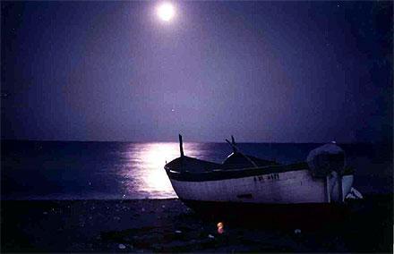il mare di notte